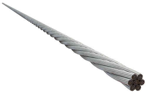 4mm 7 x19 ProRig Flexible Wire Rope 316 Stainless Steel  Per Metre