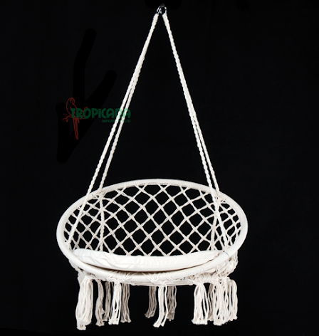 macrame hanging hammock chair