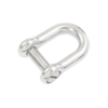 Dee shackle 6mm slot head stainless steel marine grade