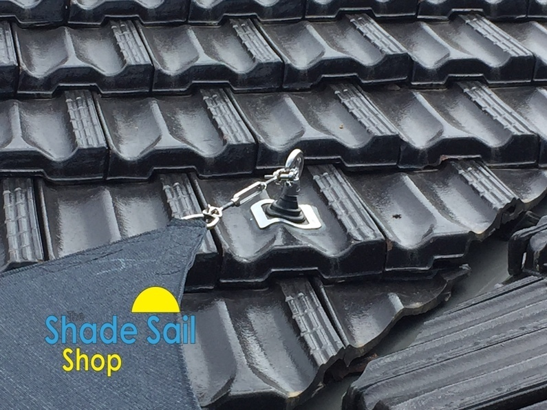 20mm Rafter Bracket Backing Plate Shade Sail Fitting for Roof Installation