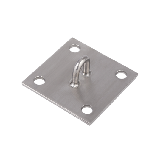 Wall Plate 150m x 150m Horizontal Stainless Steel