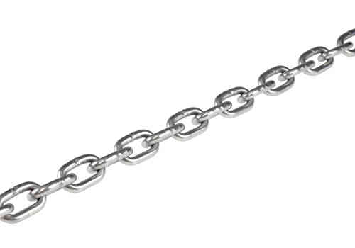 CHAIN 6mm link, 10 Metre Stainless Steel 316
