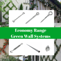 Green Wall Trellis Systems Economy