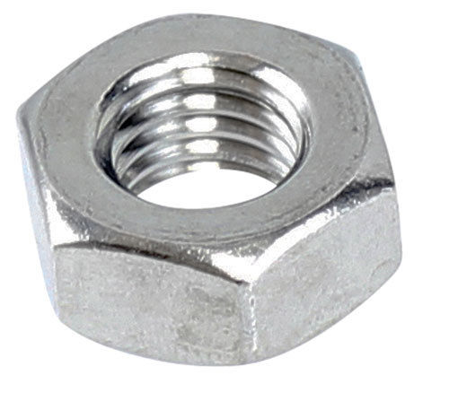 M6 Standard Hex Nut 316 Grade Stainless Steel