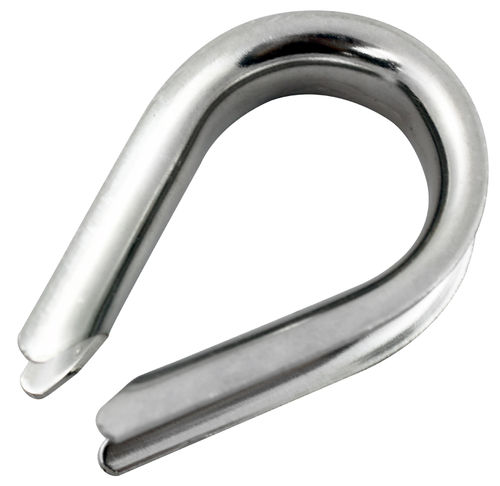 Wire rope thimble 3.2mm stainless steel - Small