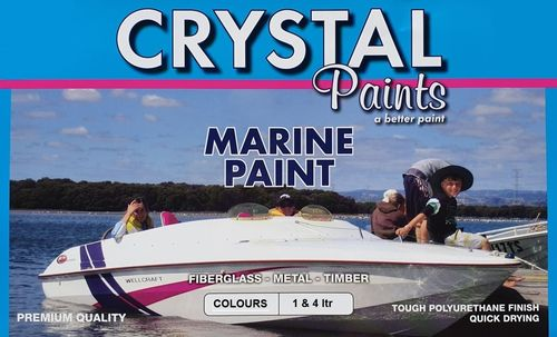 Marine Paint 1 Litre White - Brush, Roll or Spray