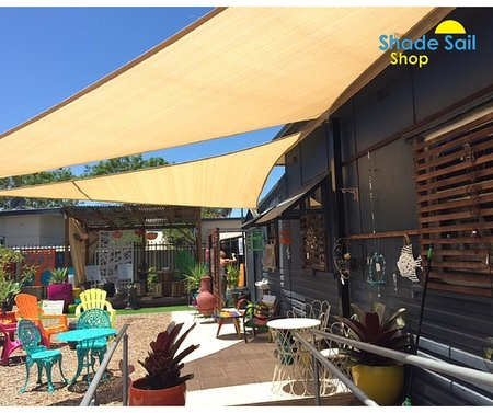 Love of a Lifestyle in Ettalong Beach NSW has installed 2x of our right angle shade sails in sand. 3x5x5.8 and a 4x5x6.4. Providing some much need shade for there customers.\\n\\n19/02/2016 12:26 PM