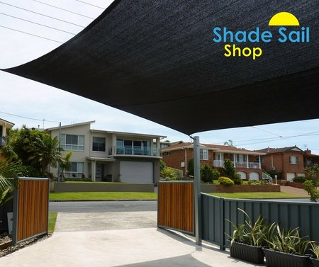 Thanks Terry for sending in your installation photo of your 4x6m black shade sail from The Shady Lady Range. Looks fantastic.\\n\\n30/11/2015 8:09 PM