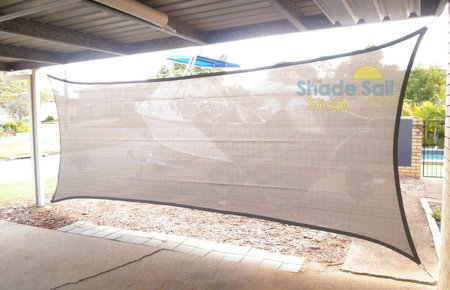 The 2x5 grey rectangle Shady Lady range in use here adding protection to the side of a carport. Thanks to Ali for sending in her pictures.\\n\\n16/09/2015 4:43 PM