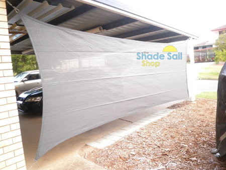 2x5 rectangle in the Shady Lady Range in Grey. Sent in by Ali and used to add a bit of protection to the side of the carport.\\n\\n16/09/2015 4:42 PM