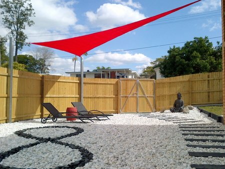 Thanks Ben. Love the look of your designer garden. Ben has used a red 3x6x6m\\n\\n4/08/2014 3:03 PM