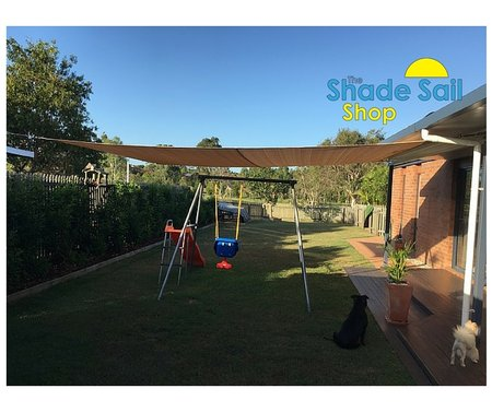 Karyn has installed our 3x4m shady lady shade sail in her outdoor area. Thanks for sending your photo in.\\n\\n7/03/2016 3:11 PM