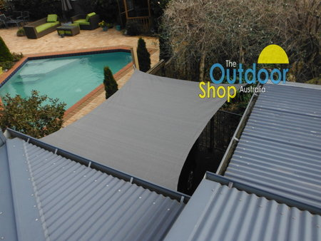 Thank you Murray and Phillipa for sending in your pics of your 2.5 m x 3 m Dark Grey shade sails. Looks great and another perfect fit.\\n\\n4/08/2014 3:10 PM
