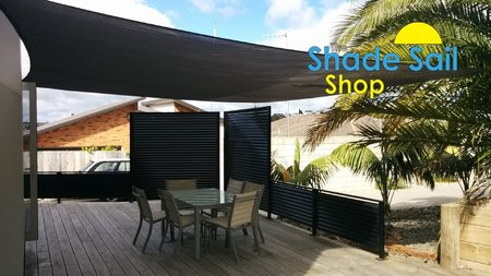 Thanks to Brett from Tauranga in NZ for sending in his shade sail photo's, Great work installing our 5x6m shady lady grey shade sail.\\n\\n28/10/2016 12:06 PM